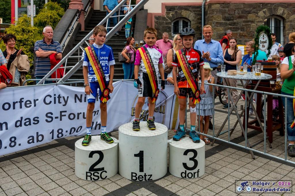Siegerehrung Fette Reifen Rennen 2016
